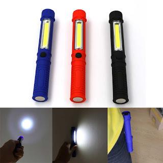 Jual TaffLED Senter LED Magnet COB 250 Lumens - BC12