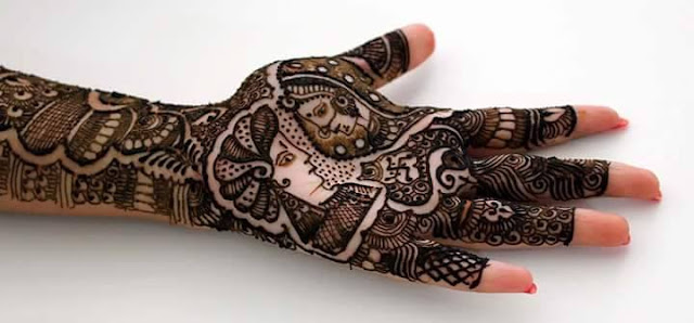 Bridal Mehandi Design 10