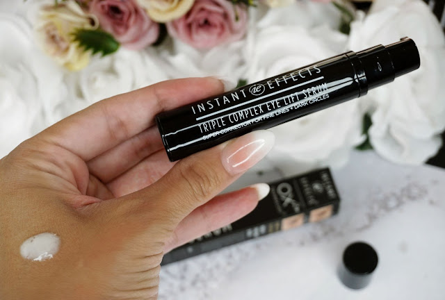 TRIPLE COMPLEX EYE SERUM  my instant effects review
