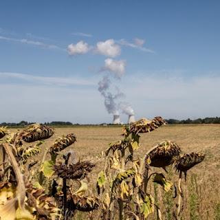Le rendement et la disponibilité des centrales nucléaires baisse avec l'augmentation des températures