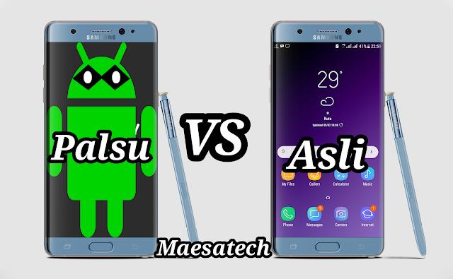 Cara Membedakan Android Asli atau Palsu