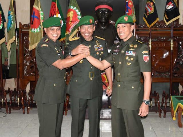 Hartono Gantikan Christian Tehuteru Jabat Komandan Resor Militer (Dandrem) 151/Binaiya