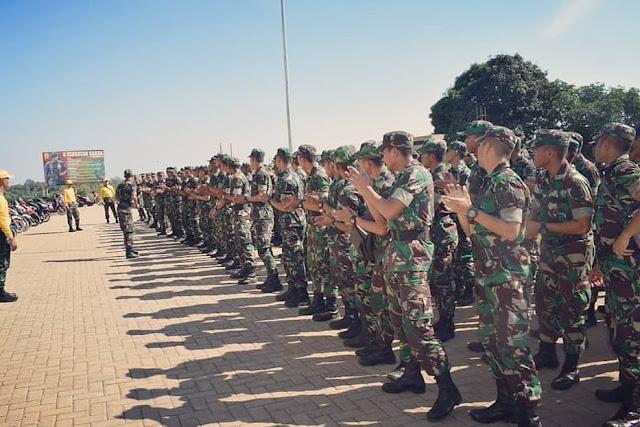 Kasdivif 3 Kostrad Berikan Pengarahan Kepada Bintara Baru Masuk di Gowa