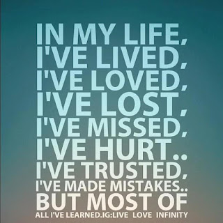 in my life i have made mistakes