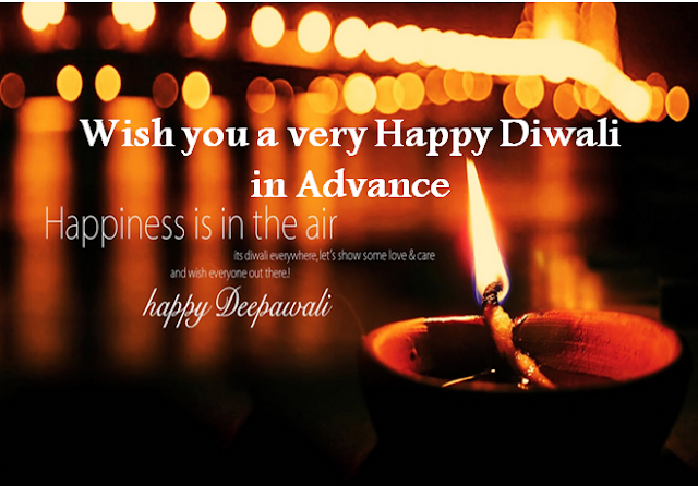 Advance Happy Diwali Messages Wishes