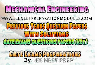 [PDF] Mechanical Engineering GATE Previous Years Question Papers Collections With Key (Solutions)