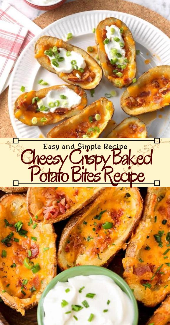 Cheesy Crispy Baked Potato Bites Recipe #vegan #vegetarian #soup #breakfast #lunch