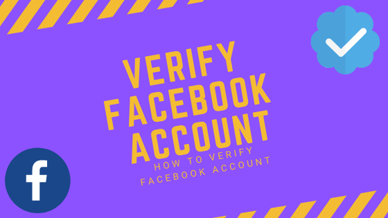 Facebook Verify My Account<br/>