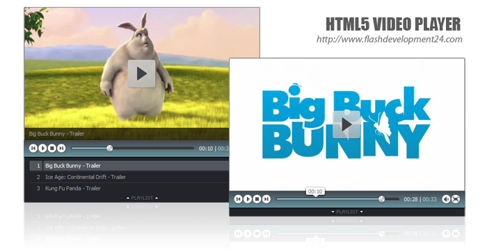 Html5 video player dw extension 1 0 0 tutorials all for Html5 video player template