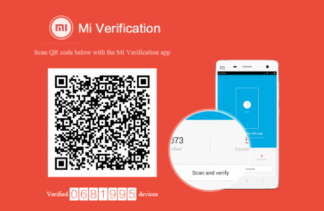 Aplikasi XIaomi MI Verification