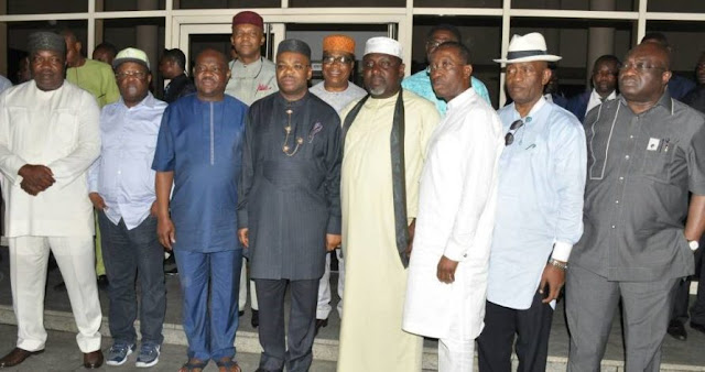 Southeast/Southsouth governors vote for Nigeria's unity, greatness
