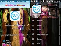 BBM Mod Masha and The Bear apk for Android 2016