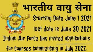 IAF AFCAT 2021: 334 पदों के लिए ऑनलाइन आवेदन 1 जून से शुरू - डिंपल धीमान