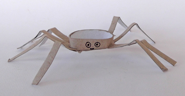 spider, paper, cardboard, crafts, kids, art, project, animal, animal crafts, paper animals