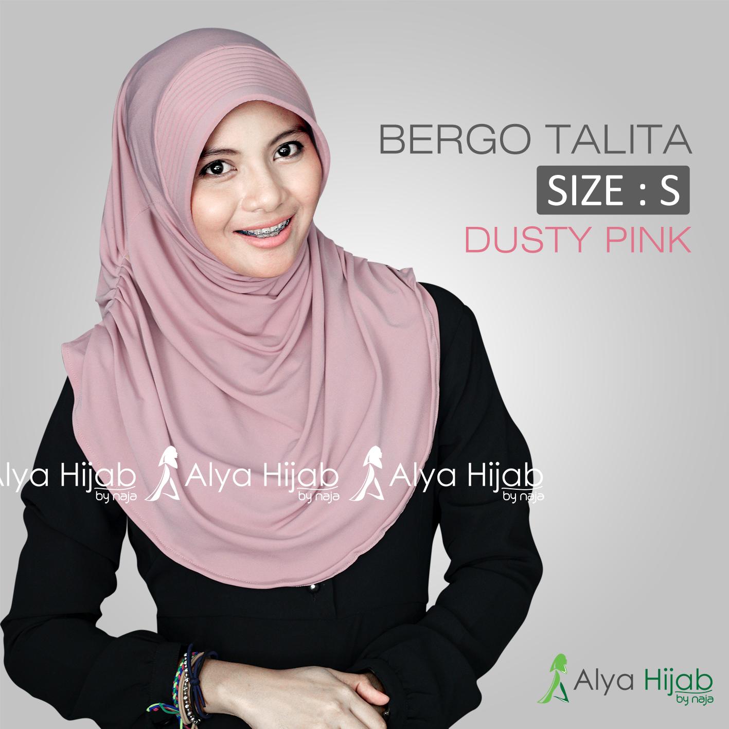 Hijab Bergo Talita Alya Hijab By Naja Jual Hijab Dan Produsen