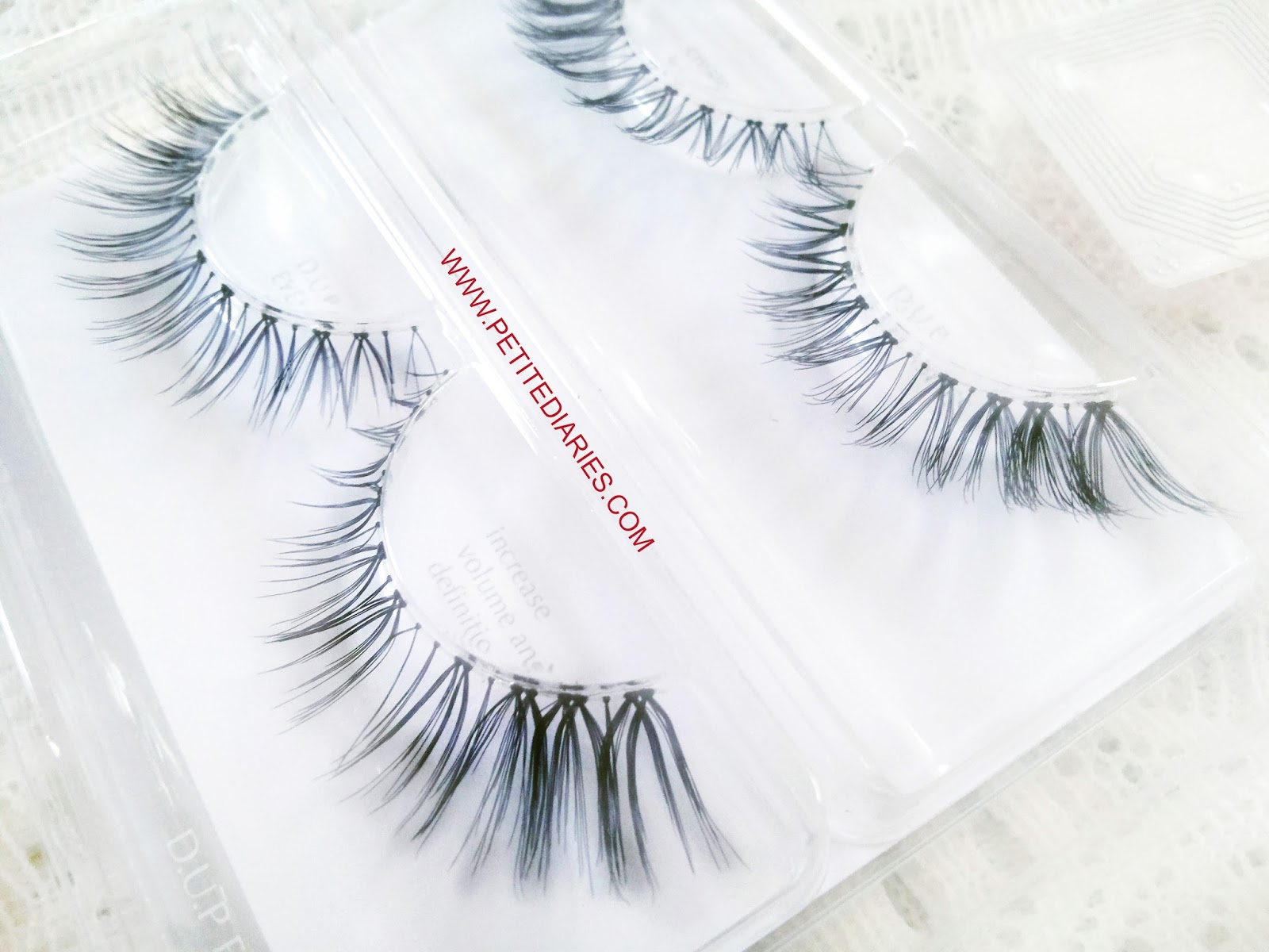 d.u.p eyelashes review