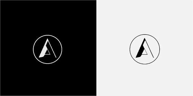 Abstract logo template with letters A and L stacked on top of each other forming a triangle. (Photo: Robert Tshivhase)