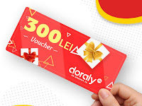 Castiga vouchere in valoare de 300 de lei pentru cumparaturi pe DORALY.ro
