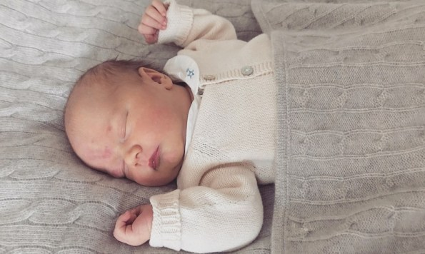 New picture of newborn Prince Gabriel released