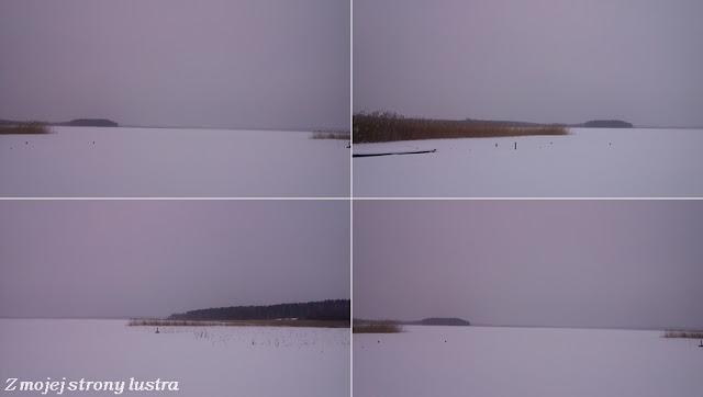 jezioro Seksty zimą