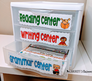 If you like keeping organized, you'll love these ideas for easy, inexpensive and efficient ways to organize your literacy centers.