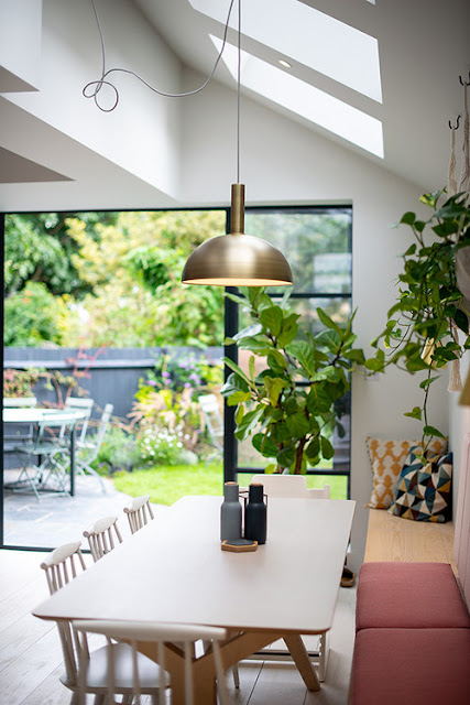 Kitchen with Skylights