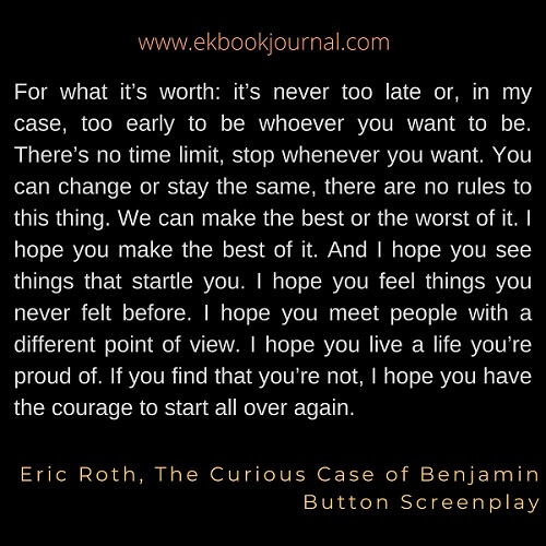 Eric Roth Quotes | Life Quotes | Time Quotes