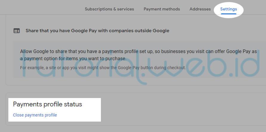 Cara Menghapus Akun Adsense pada gmail 3 Close Payment