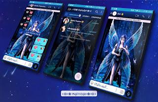 Fairy Blue Girls Theme For YOWhatsApp & Fouad WhatsApp By Nanda
