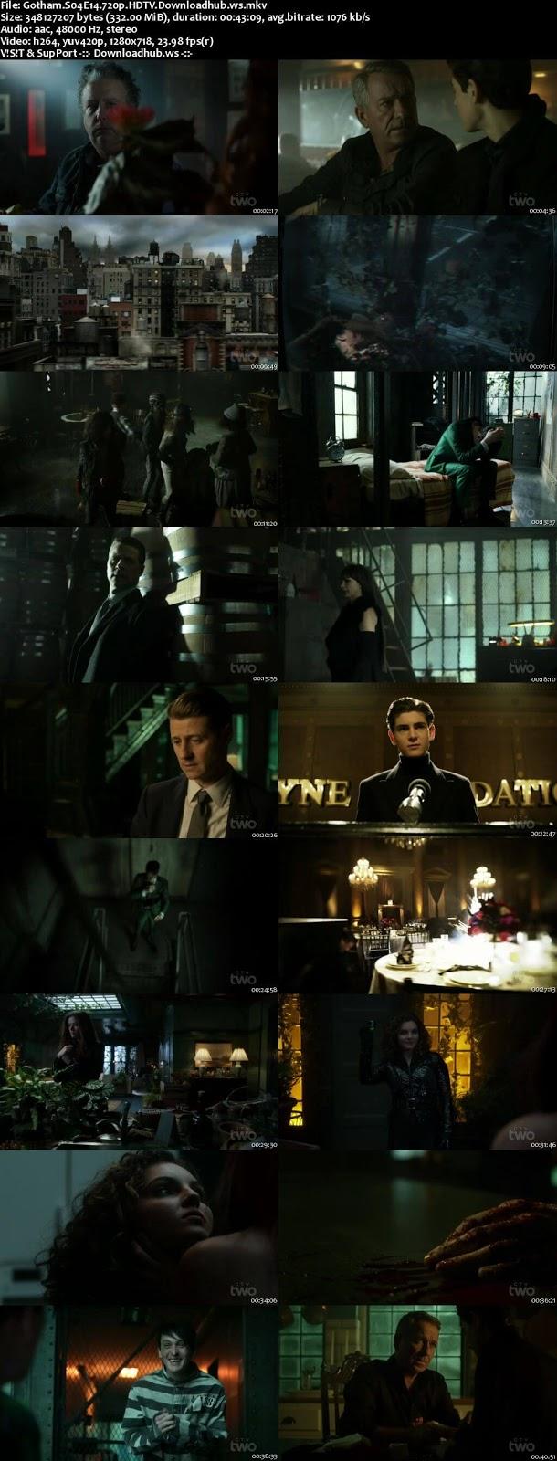 Gotham S04E14 330MB HDTV 720p x264