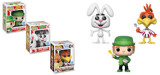 Lucky the Leprechaun, Trix the Rabbit, and   Sonny the Cuckoo Pop!s 3-pack Bundle