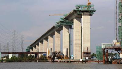 Gói thầu J3 xây dựng cầu Phước Khánh thuộc cao tốc Bến Lức
