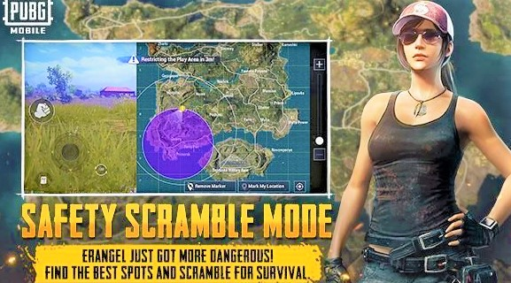 Miramar 2.0 It seems that Erangel 2.0 is not here yet, but instead we got Miramar 2.0. On this new Mirama map, we will have vending machines that will give you an energy drink and pain medication. Golden Mirado will always appear in the garage at Hacienda del Patron in every game. There are also some minor map changes, such as Racing Ramp and a new location, Water City. Win94 will have a small buff, as the developer gives the weapon a 2.7x scope. Weapons can now be really useful when you don't have a sniper yet. Safe scrum mode Safety Scramble mode will be the new EvoGround mode in PUBG Mobile. It's like a classic map, but with a slight twist. In this game mode, there will be 2 blue zones, one outside the circle and inside the circle. Thus, there will be fewer vacationers who sit only in the middle of the circle and make everyone fight. A new mode called Jungle Adventure Mode will only be released for Sanhok. All we know so far is that you can fly up and down using balloons. More information will be disclosed after the update.