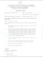 Graduation Criteria For Bachelor of Nursing Science New ( Bsc Nursing)