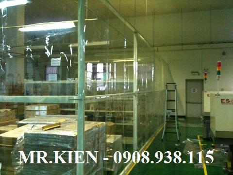 Vách rèm nhựa PVC chống bụi bẩn Công ty TNHH Daiichi Seiko Việt Nam