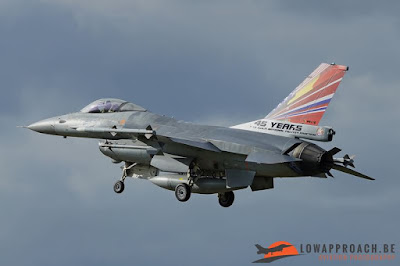 Belgian F16 special tail color