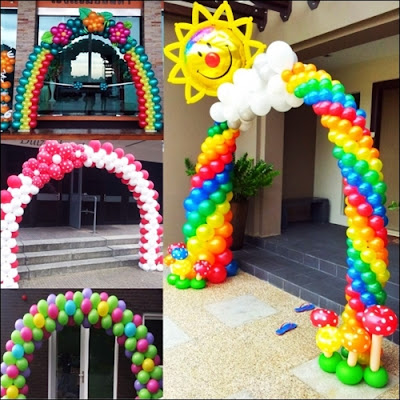 Properti Balon Gapura / Gate Balloon