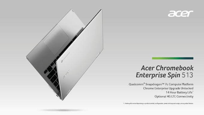 ACER Launches Acer Chromebook Spin 513, powered by the Qualcomm® Snapdragon™ 7c compute platform