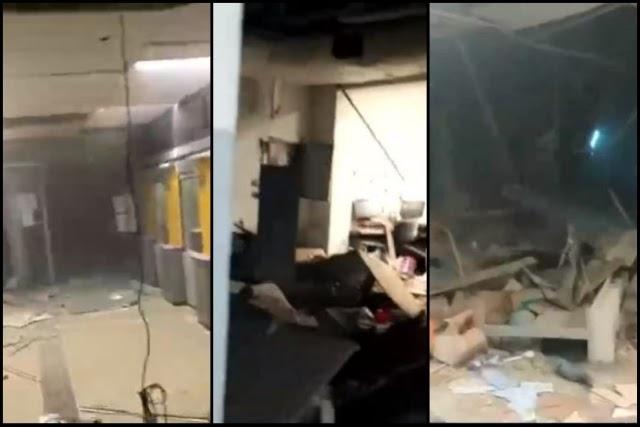 Grupos armados explodem 3 agências bancárias em Correntina