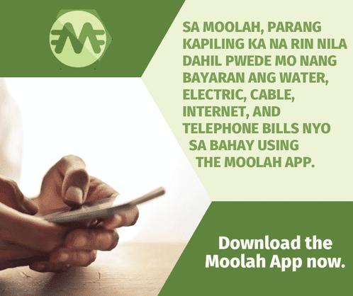 Moolah app's list of biller partners