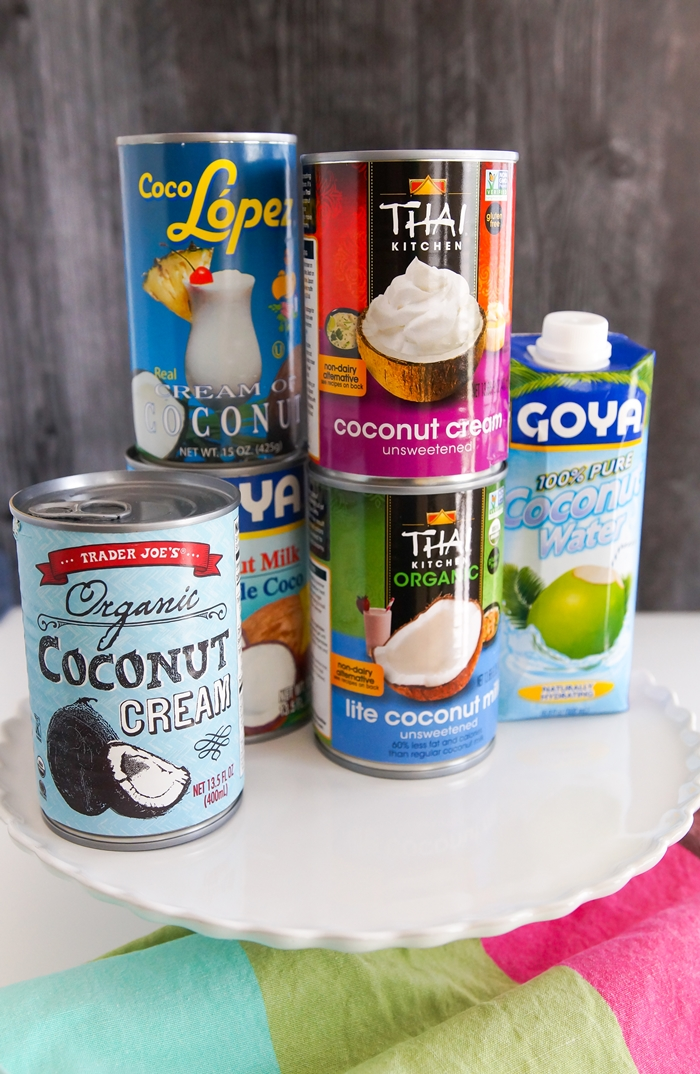 Nuts for Coconuts...milk, cream, water! When and how to use plus recipes.