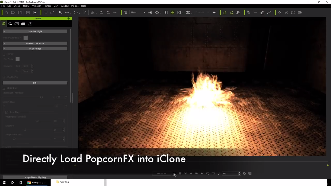 iClone PopcornFX Particle Effects - Plugins Reviews and Download