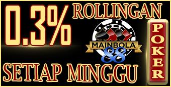 IDNpoker Rollingan 0,3%