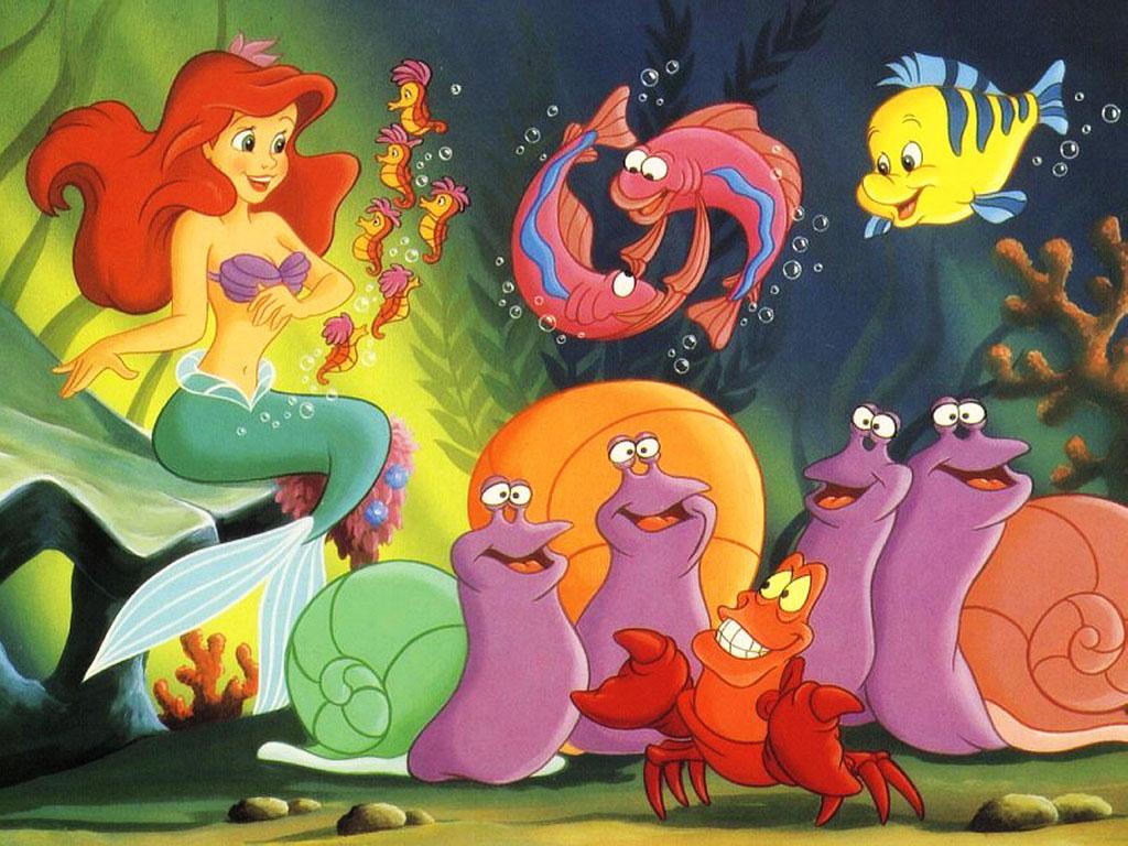 Forgotten Cartoon Characters: The Little Mermaid - photo#36