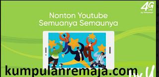 Tutorial Lengkap Cara Beli Paket Promo Youtube 100GB Harga 10 ribu di By U