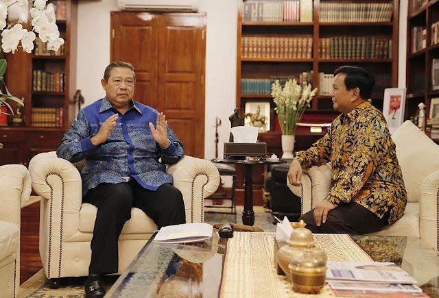 Prabowo-SBY Akan Temui Ribuan Purnawirawan TNI di Jogja