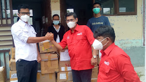 Punguan Raja Naibaho Indonesia dan Forjuba Berbagi Buku Cerdaskan Samosir