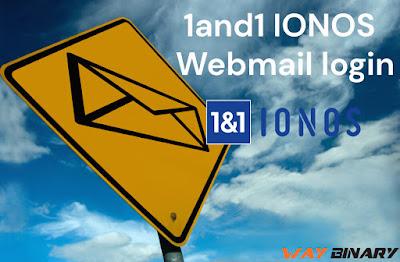 1and1 IONOS Webmail Login