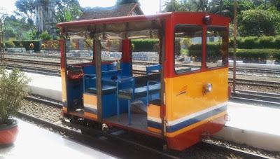 Kereta Wisata Lori Kaliraga