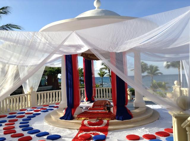Riviera Maya Barcelo Resort Palace Sikh Wedding